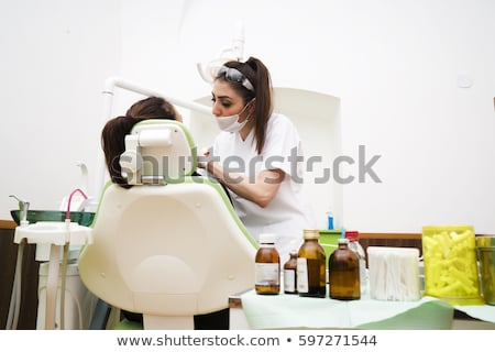 Dentist 's work Stock photo © Lighthunter