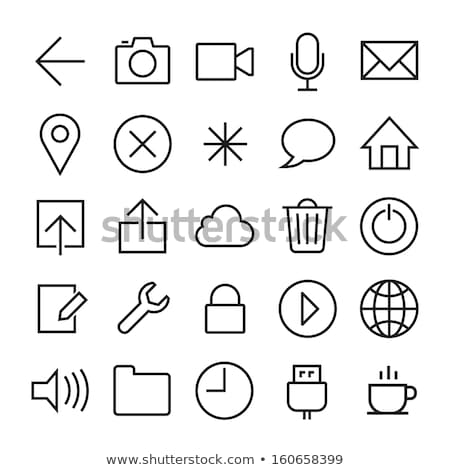 ios 7 style mobile app icons Stock photo © cidepix