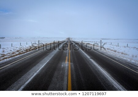 Saskatchewan nevasca armazenamento branco fora Foto stock © pictureguy
