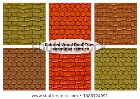 Stock photo: Wooden roof texture