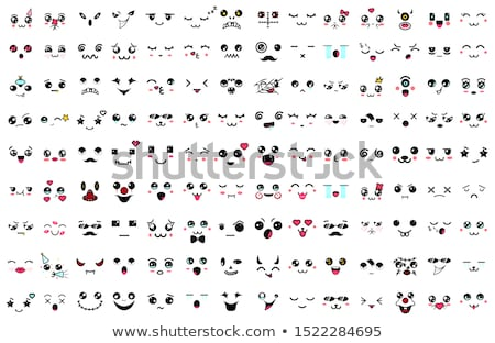 Japanese comical masks Stock photo © sahua