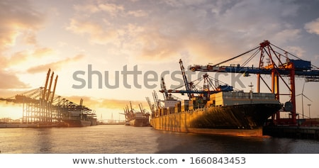 Stock photo: pier in Hamburg