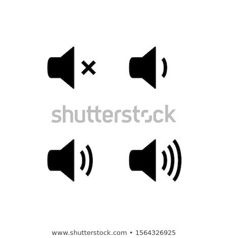 Áudio volume ícones música tecnologia Foto stock © timurock