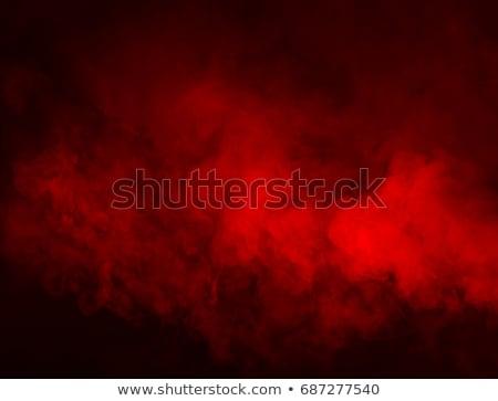 vermelho · sedoso · abstrato · escuro · tecido · ondas - foto stock © nneirda