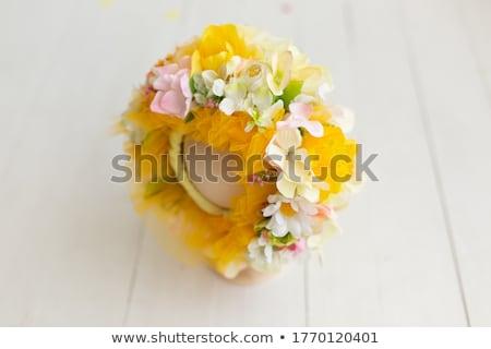 Osier texture coloré brillant cadeau Photo stock © tanya_ivanchuk