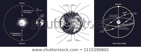 Vector planet orbit illustration Stock photo © Mr_Vector
