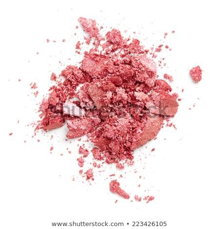 Pink blush isolated on white Stock photo © gsermek