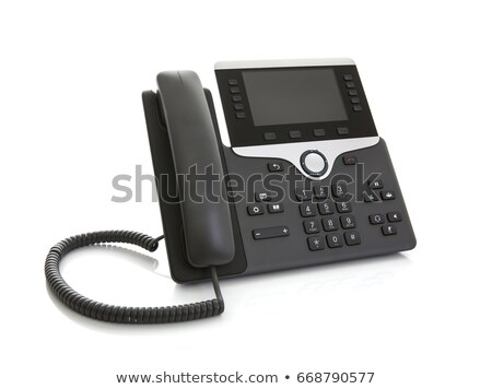 voip phone isolated on grey background Stock photo © gewoldi