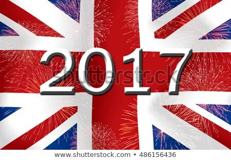 Flag burning - United Kingdom Stock photo © michaklootwijk