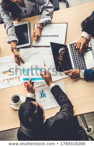People Group Investing Stock photo © Lightsource