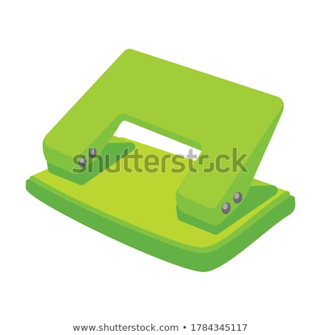 Hole puncher on a white background Stock photo © daboost