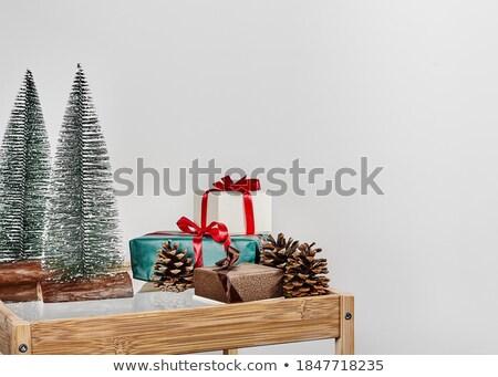 doze · natal · ilustração · aves · número · férias - foto stock © lenm
