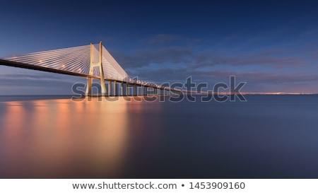 Lissabon moderne architectuur stad Portugal Stockfoto © tony4urban