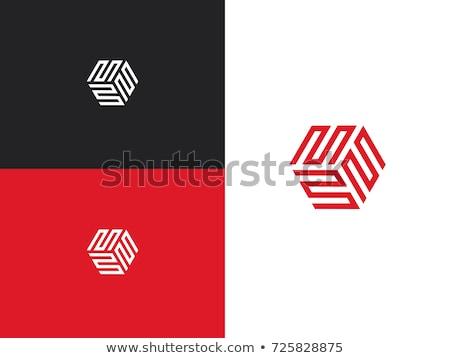 triple letter m logo symbol vector element Stock photo © blaskorizov