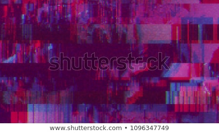 Digital TV broadcast glitch Stock photo © stevanovicigor