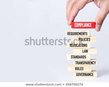 Compliance Concept on Folder Register. Stock photo © tashatuvango