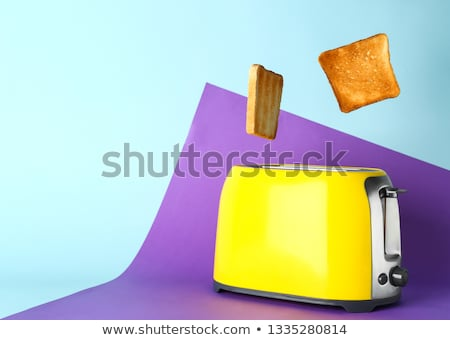 Bread toaster appliance Stock photo © ozaiachin