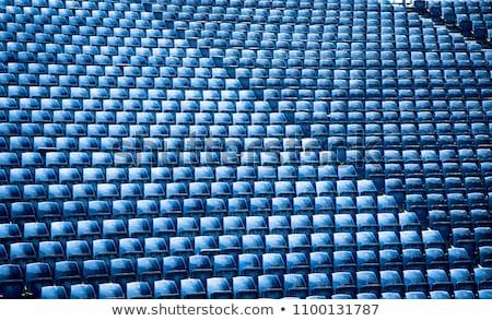 blue seats at stadium Stock photo © ssuaphoto