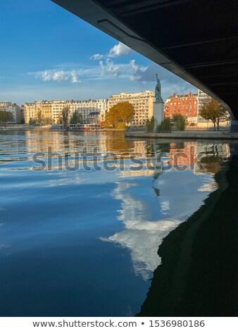 sculpture at Pont de Grenelle - Paris  Stock photo © meinzahn