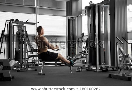 ejercicio · deporte · gimnasio · sala - foto stock © zurijeta