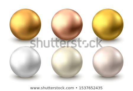 Foto stock: Metal · cuentas · hermosa · dorado · primer · plano · foto