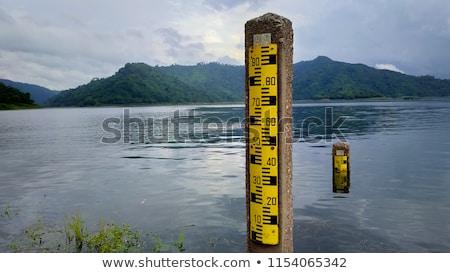 Water level gauge Stock photo © Hofmeester