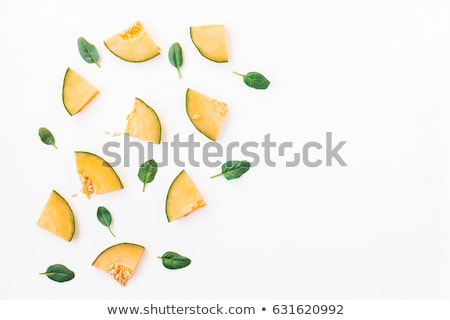 Tranches melon baies fruits alimentaire Photo stock © M-studio