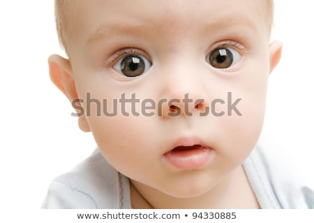 close up of children face with big eyes Stock photo © Giulio_Fornasar
