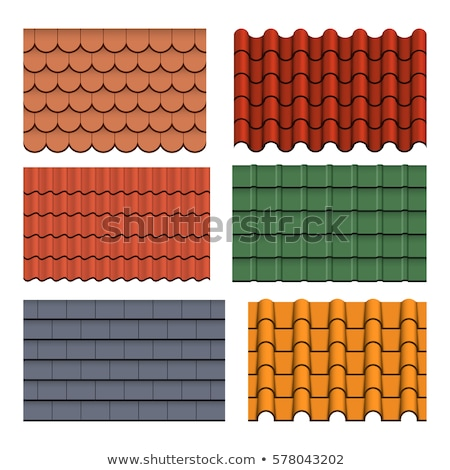 Spanish roof tiles Stock photo © pedrosala