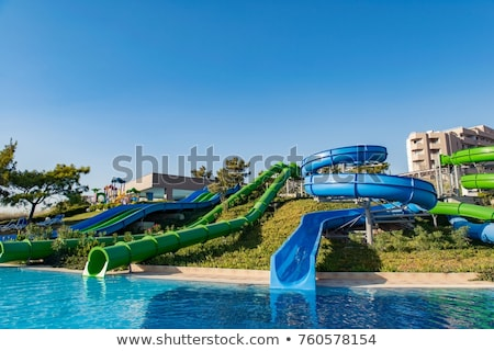 water entertainment part of swimming pool stock photo © elnur