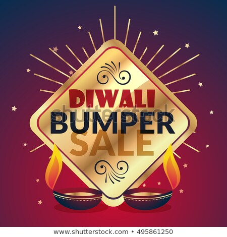 bumper diwali sale offer and discount presentation template Stock photo © SArts