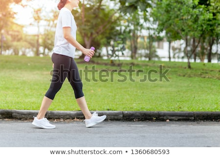 walking in the morning stock photo © fisher