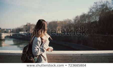 Coffee on the bridge. Stock photo © Fisher
