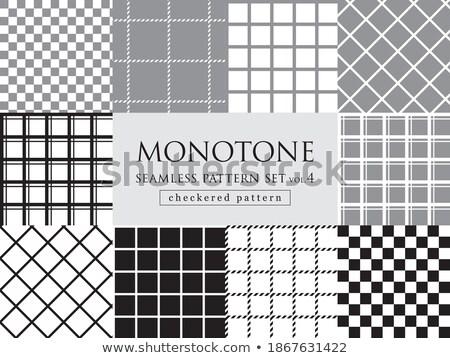 four diagonal patterns collection diagonal lines seamless black stock photo © pashabo