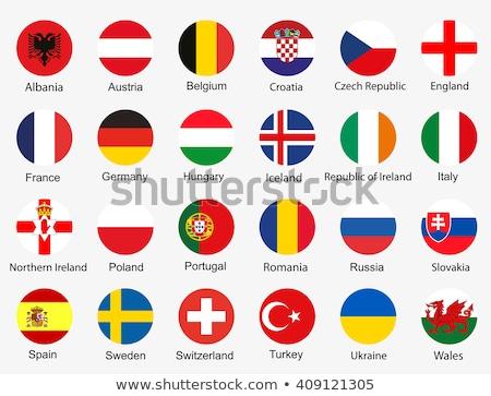 Deutschland Euro Flagge Sternen Stock foto © soup22