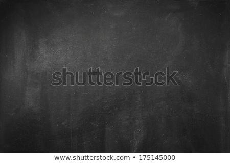 Fekete tábla öreg fa deszka klasszikus stílus Stock fotó © manera