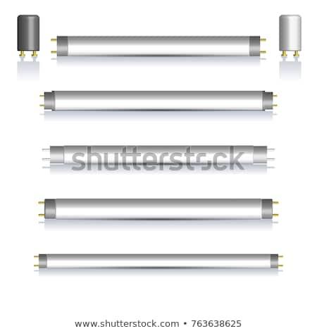 la · eficiencia · energética · elementos · aislado · blanco · verde · carta - foto stock © kup1984