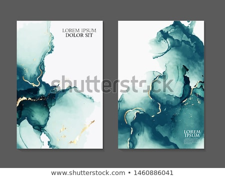 Natural Stones Isolated Illustrations Collection Stock photo © robuart