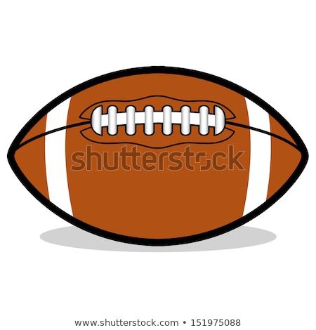 American Football Ball Cartoon Character Stock photo © Krisdog