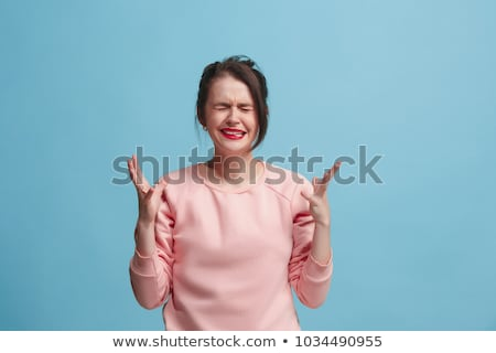 Pretty Expressive Woman Stock photo © keeweeboy