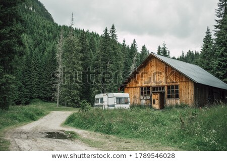 Mountainside chalet Stock photo © IS2