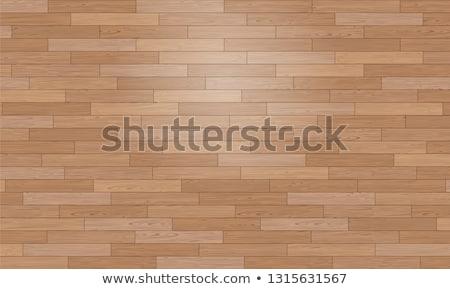 Empty Wooden Floor with Nature Background Vector illustration stock photo © SaqibStudio