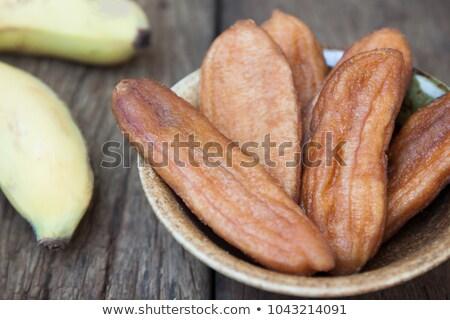 Nap aszalt banán méz sült banán Stock fotó © ungpaoman