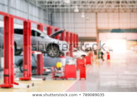 Engine Maintenance and Car Suspension Inspection Stock photo © robuart