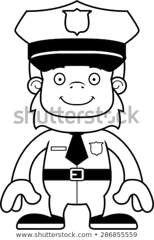 полицейский · работу · прав · службе · человек · профессиональных - Сток-фото © cthoman