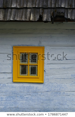 window of the farmhouse in old tradition Stock photo © fanfo