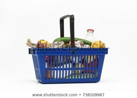 Voedsel vruchten peulvruchten geïsoleerd witte Stockfoto © Kurhan