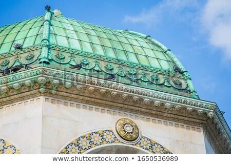 çeşme eski İstanbul detay Türkiye şehir Stok fotoğraf © boggy