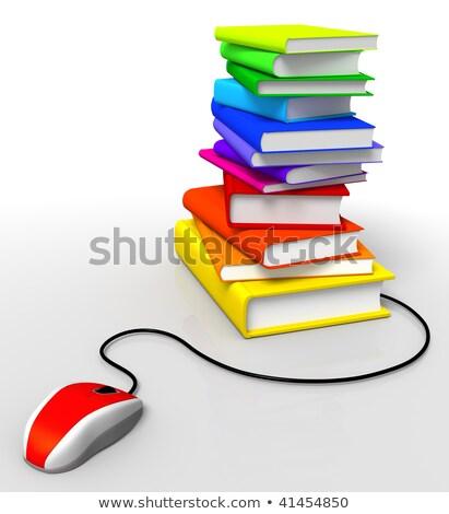 мыши · книга · Компьютерная · мышь - Сток-фото © lichtmeister