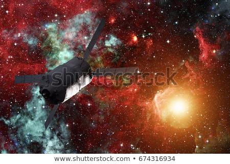 貨物 転送 車両 スパイラル 銀河 要素 ストックフォト © NASA_images